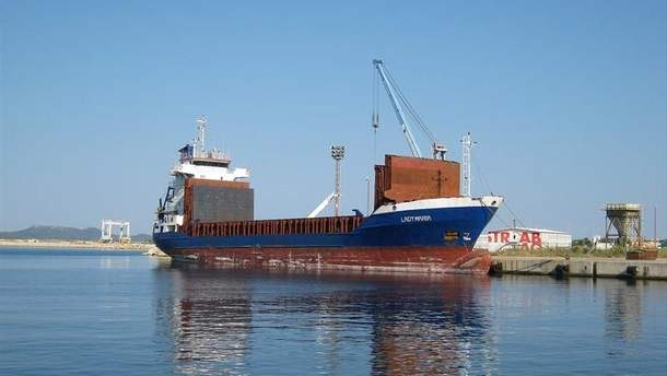 Корабль Lady Maria столкнулся с судном Azov Concord в Керченском проливе