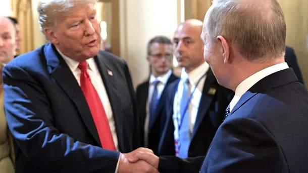 В Белом доме заявили о неформальный разговор Трампа с Путиным в кулуарах саммита G20
