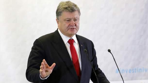 Порошенко призвал мир отреагировать на агрессию Кремля на Азове