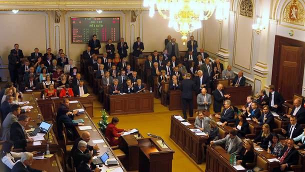 Парламент Чехії виступає за збереження антиросійських санкцій