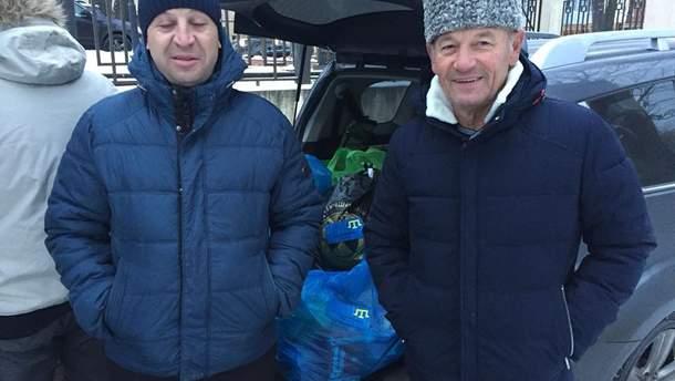 Крымскотатарские активисты привезли вещи и продукты в СИЗО в Москве
