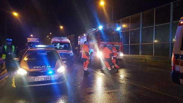 В ДТП под Краковом пострадало много украинцев