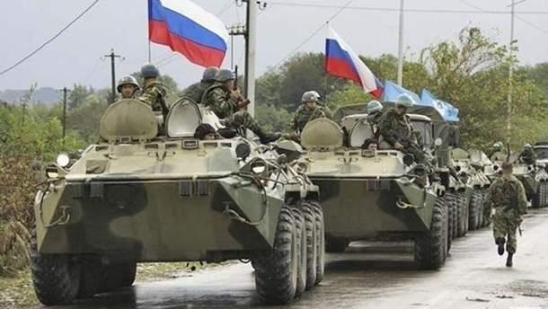 Вдоль границы с Украиной резко увеличилось количество войск РФ