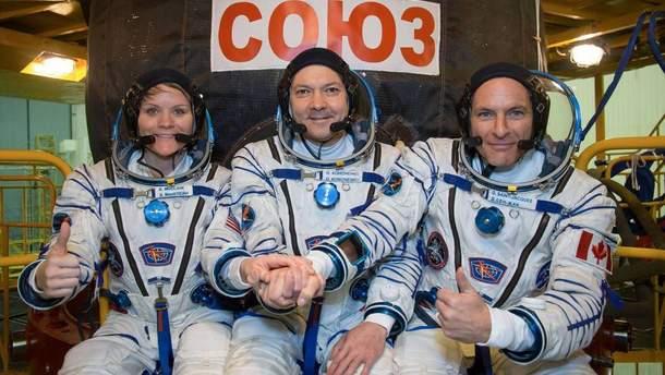 Запуск ракети Союз 03.12.2018: відео-трансляція