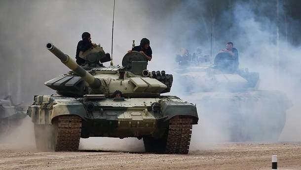 Окупанти проводять навчання ракетних комплексів флоту РФ в анексованому Криму