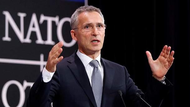 Генсек НАТО назвав умову продовження діалогу з Росією