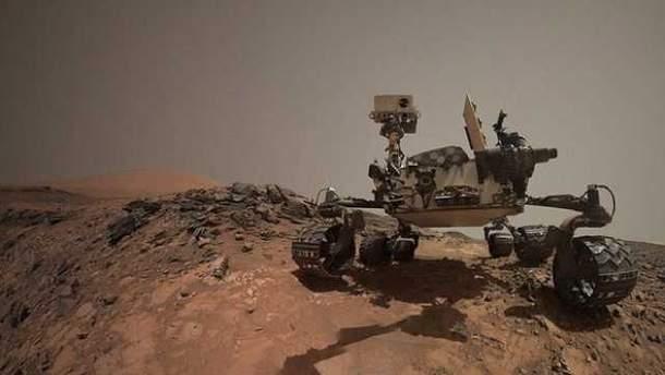 Cutriosity обнаружил интересный объект на Марсе