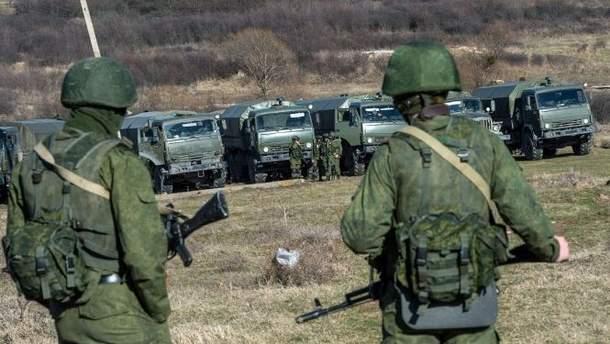 Россия серьезно увеличила количество военных и вооруженной техники в Крыму