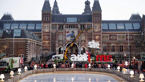 "В Амстердаме забрали популярную инсталляцию ""I Amsterdam"""