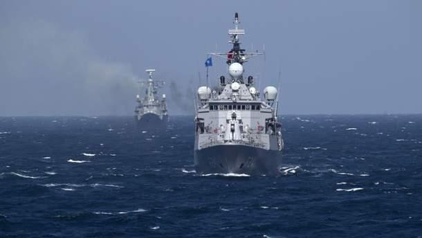 Атака России в Азовском море