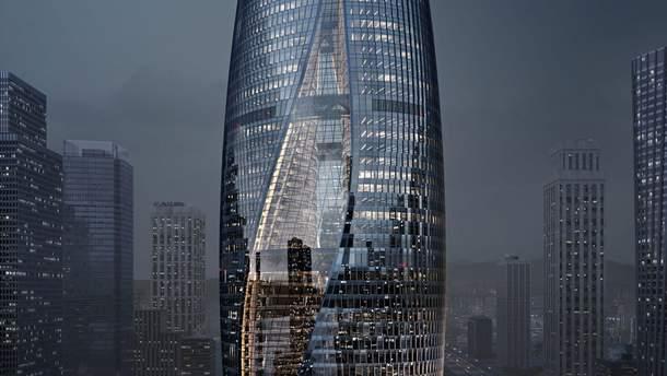 Leeza SOHO станет небоскребом с крупнейшим в мире атриумом
