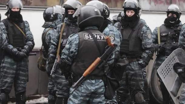 """Рада планирует запретить символику """"Беркута"""""""