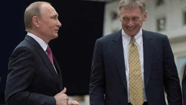 В Кремле делают вид, что ничего не знают о захваченных украинских кораблях