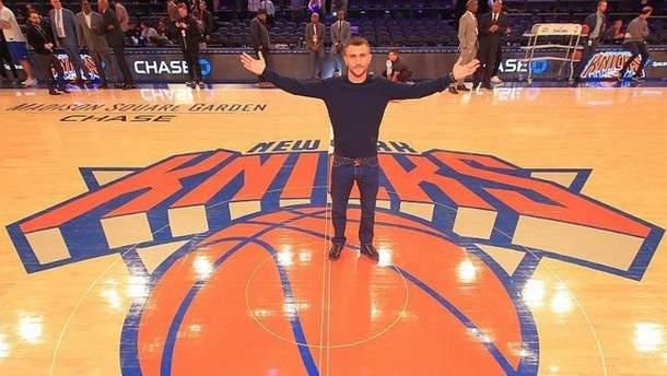 Василий Ломаченко посетил матч НБА