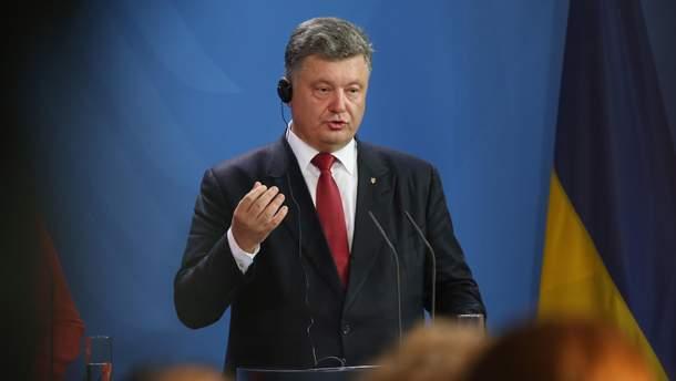 Президент Порошенко зробив гучну заяву у бік Кремля через його агресію на Азові