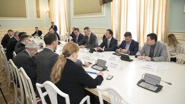 Зустріч з представниками міжнародних організацій