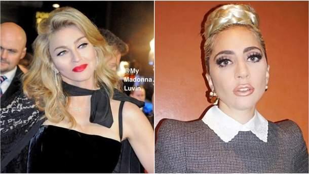 Конфликт Мадонны и Леди Гаги