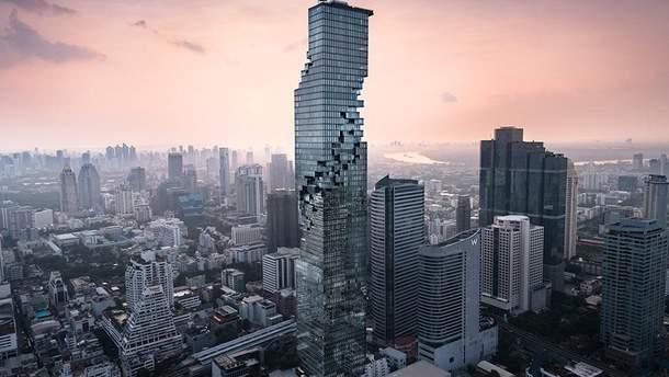 Небоскреб MahaNakhon является самым высоким зданием Бангкока