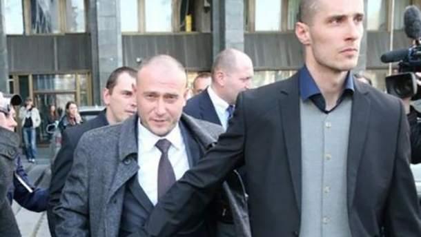 Олександр Шумков (на фото праворуч) та Дмитро Ярош