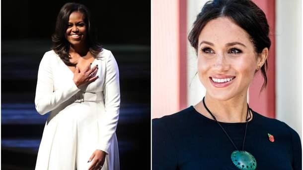 Меган Маркл встречалась с Мишель Обамой
