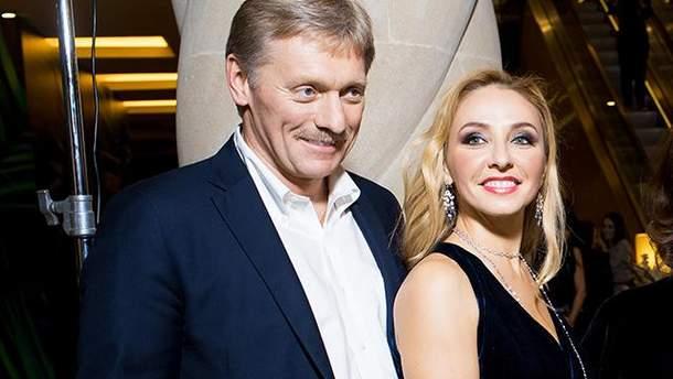Дружина Пєскова Навка стала співвласницею бізнесу в окупованому Криму
