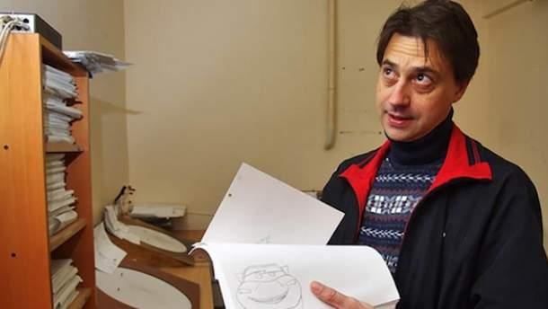В Одессе на 47-м году скончался выдающийся мультипликатор Юрий Гриневич