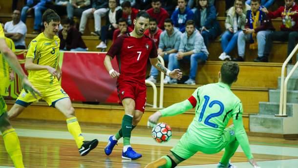 Сборная Украины сыграла вничью с Португалией