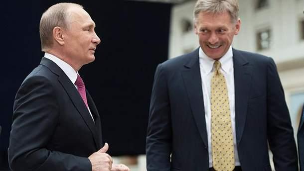 Пєсков заявив, що Росія розгляне пропозиції про обмін українських моряків