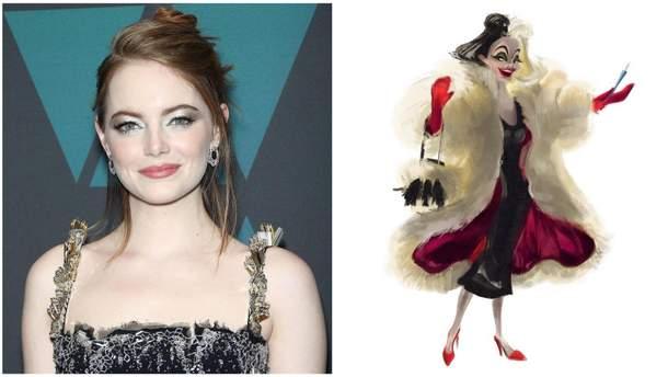 """Емма Стоун зіграє головну роль в фільмі """"101 далматинець"""""""