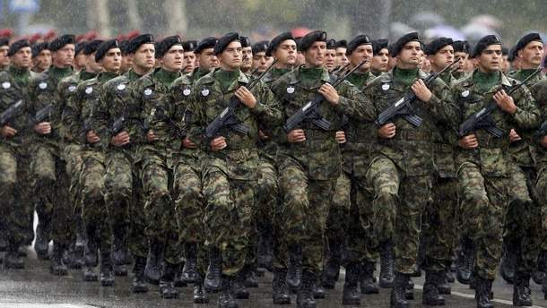Сербія погрожує Косову збройним втручанням у разі створення там армії