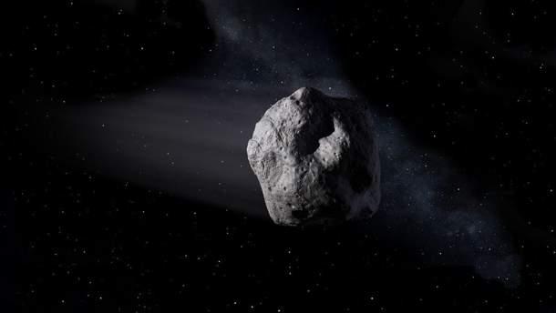 Видео с астероидом Бенну