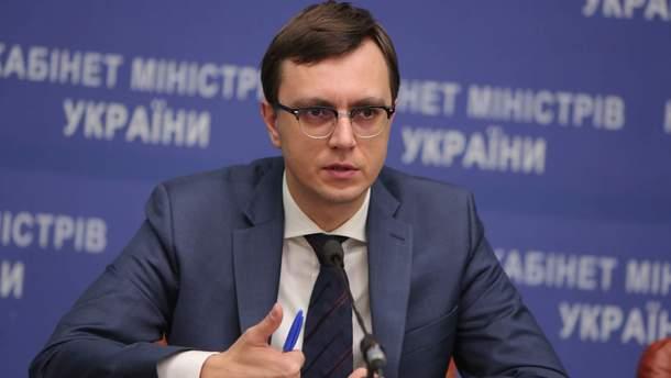 Омелян сообщил об изменениях в работе двух портов на Азовском море