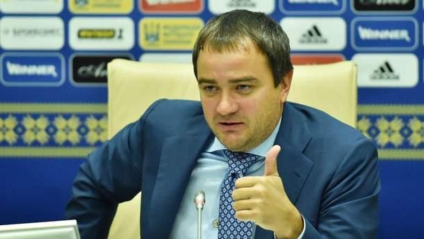 Андрій Павелко, президент Федерації футболу України
