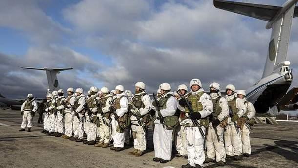 Украинские десантники переместятся на самые опасные участки границы с Россией