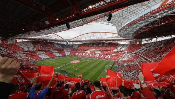 """Стадіон """"Да Луж"""" у Лісабоні"""