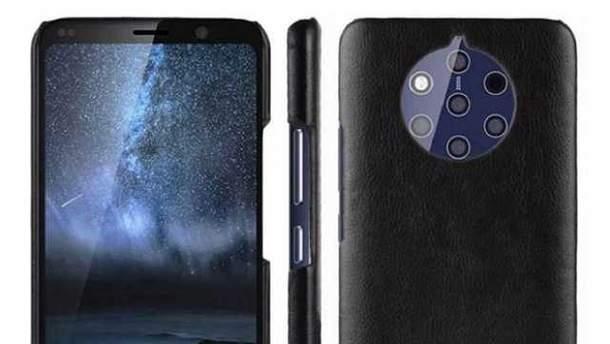 Nokia 9 з п'ятьма камерами