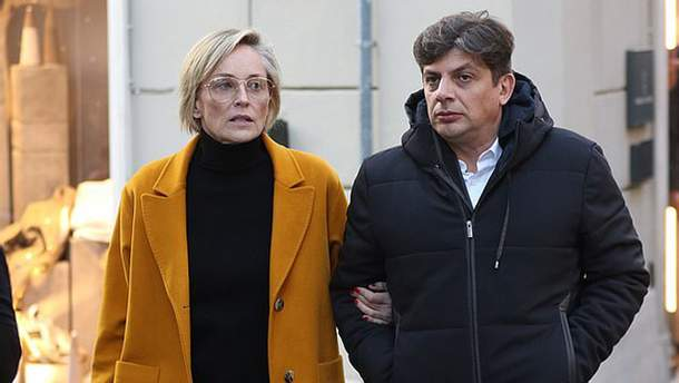 Шэрон Стоун и ее новый бойфренд