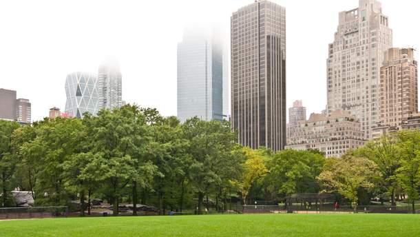 Центральный парк у Нью-Йорке