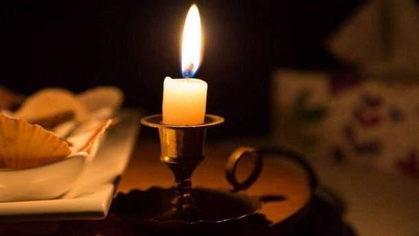 У Києві на Троєщині зникло світло