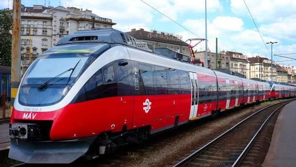 Поезд Мукачево – Будапешт выполнит первый рейс 9 декабря