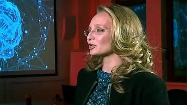Донька Путіна вперше з'явилась на російському телебаченні: відео
