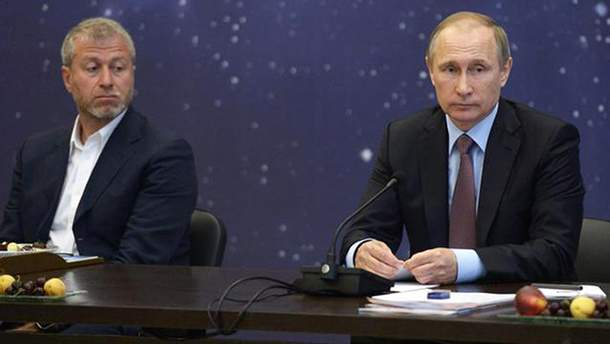 Абрамович і Путін