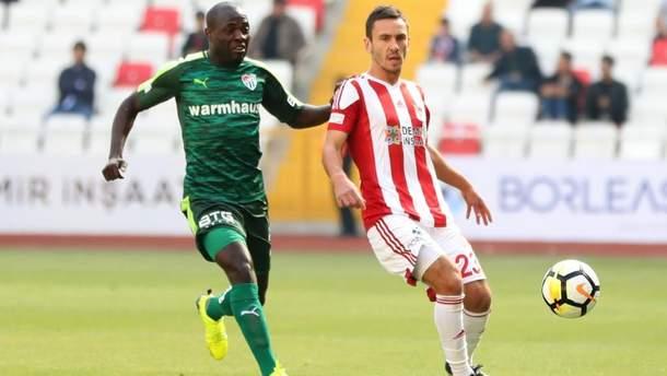 Сергій Рибалка забив гол у чемпіонаті Туреччини