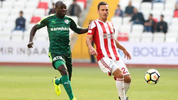 Сергей Рыбалка забил гол в чемпионате Турции