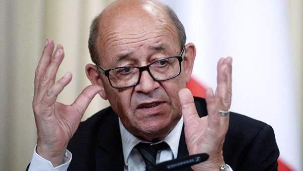 Міністр закордонних справ  Франції Жан-Ів Ле Дріан