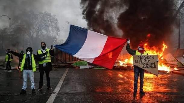 Протести у Франції: ''жовті жилети'' оприлюднили низку вимог до влади