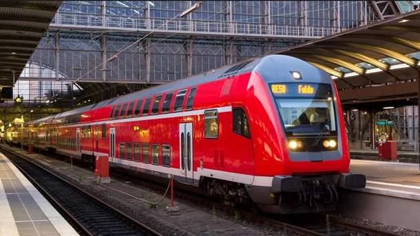 """Железная дорога в Германии """"остановилась"""" на 4 часа"""