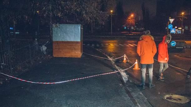 В Киеве возле КПИ произошла стрельба: фото и видео - 10.12.2018