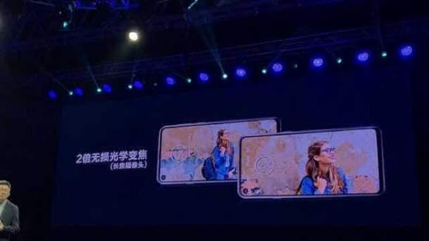 """Samsung Galaxy A8s с """"дырой"""" в экране представили официально"""