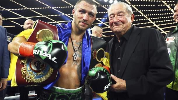 Ломаченко стал чемпионом мира по версиям WBO и WBA